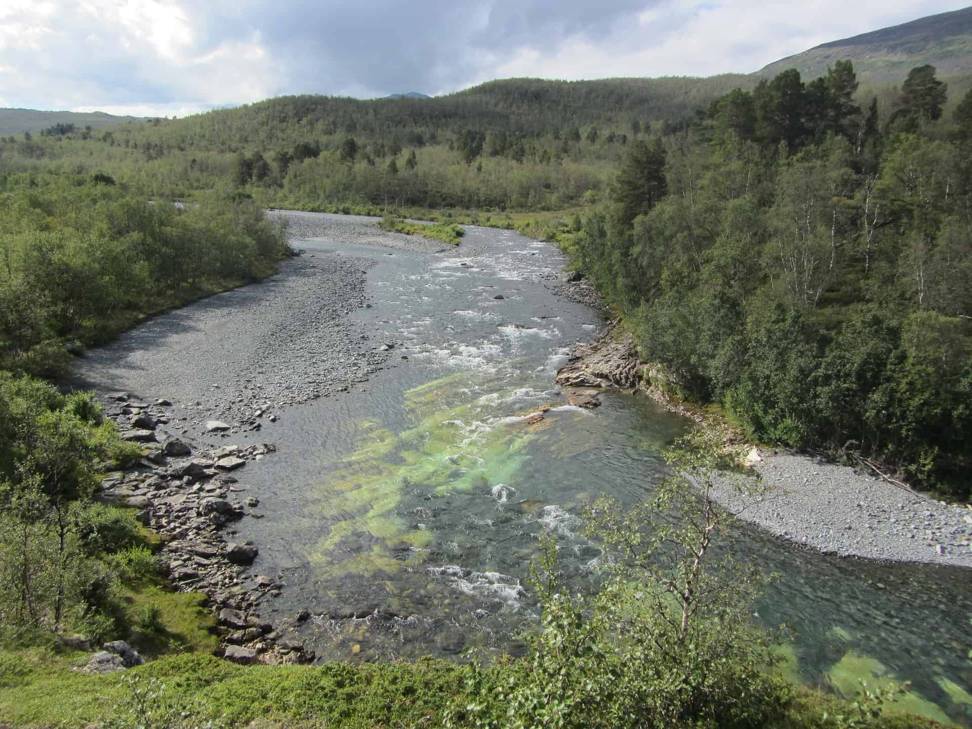 In the Swedish mountains you can enjoy the water of flowing mountain streams and rivers. Many Swedish lakes are also so clean that the water is drinkable.