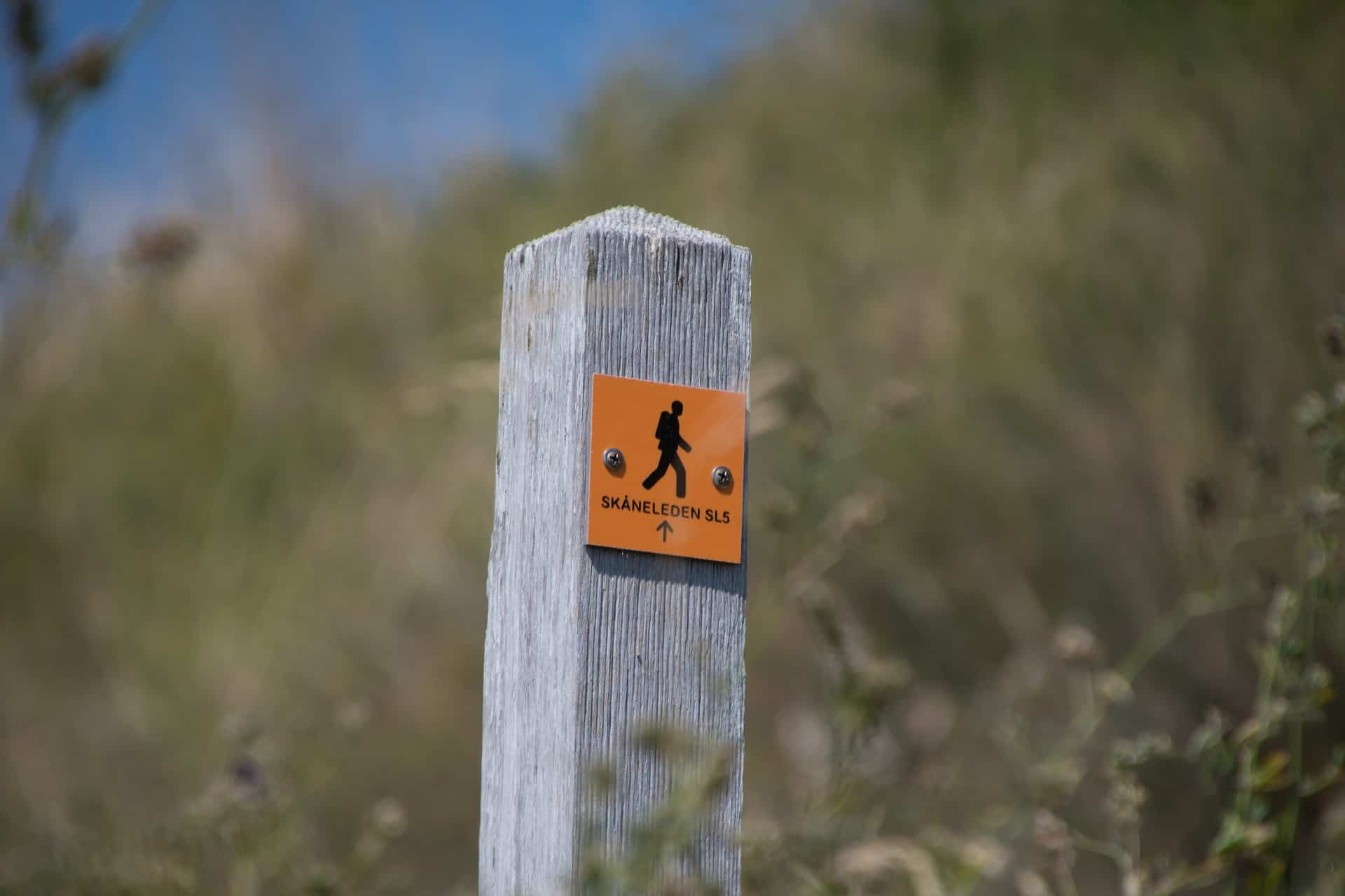 Almost all hiking trails are very well marked, so you won't get lost quickly