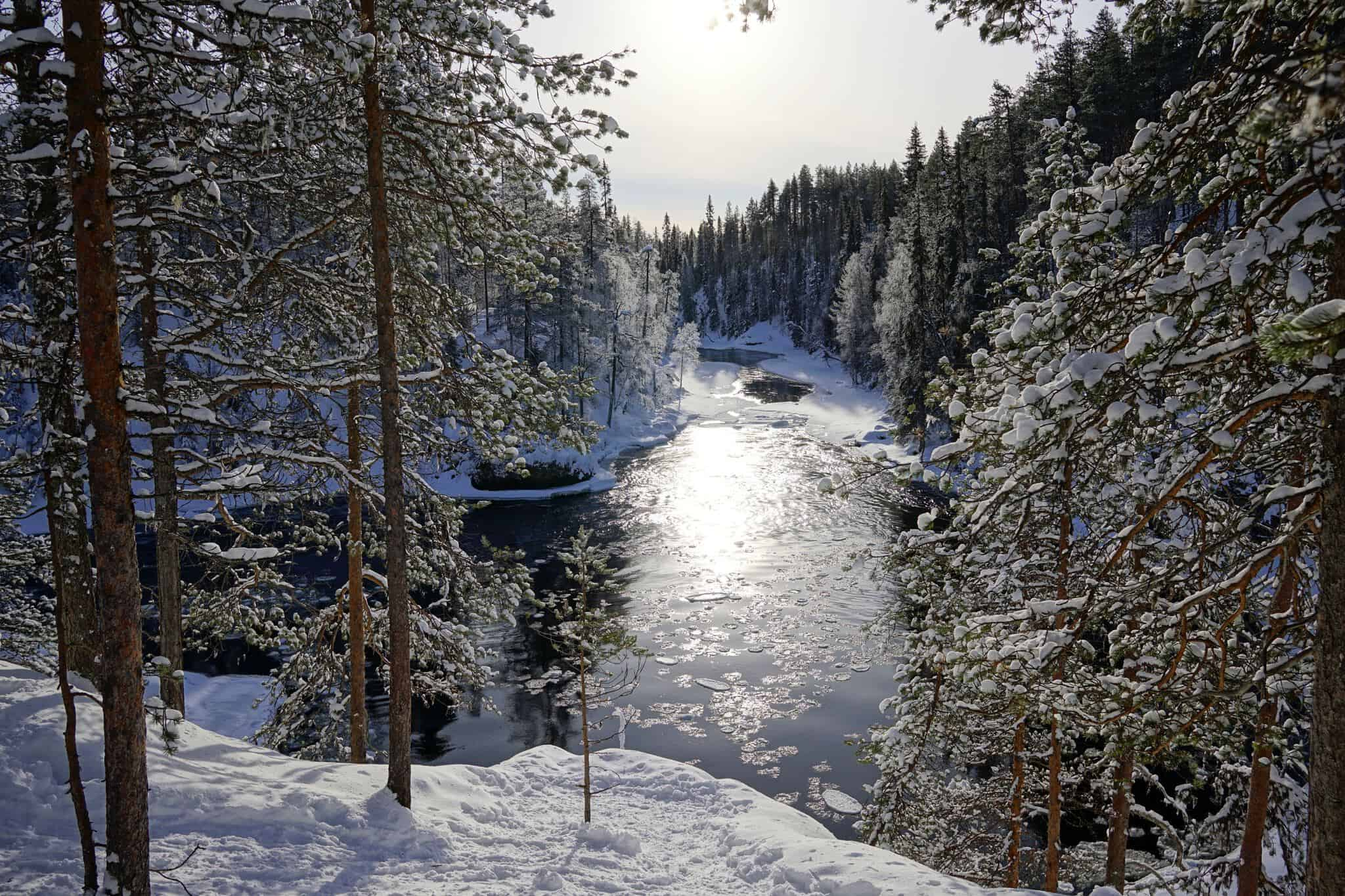 The Oulanka National Park is also worth a visit in winter