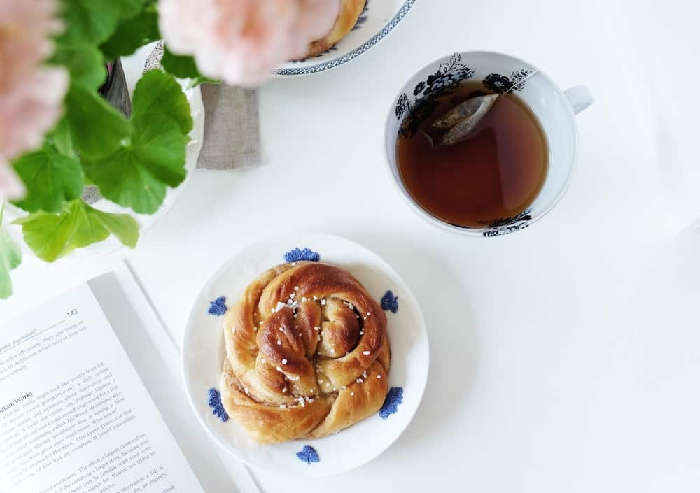 "A moment of peace during ""fika"" fits in perfectly with the lagom philosophy."