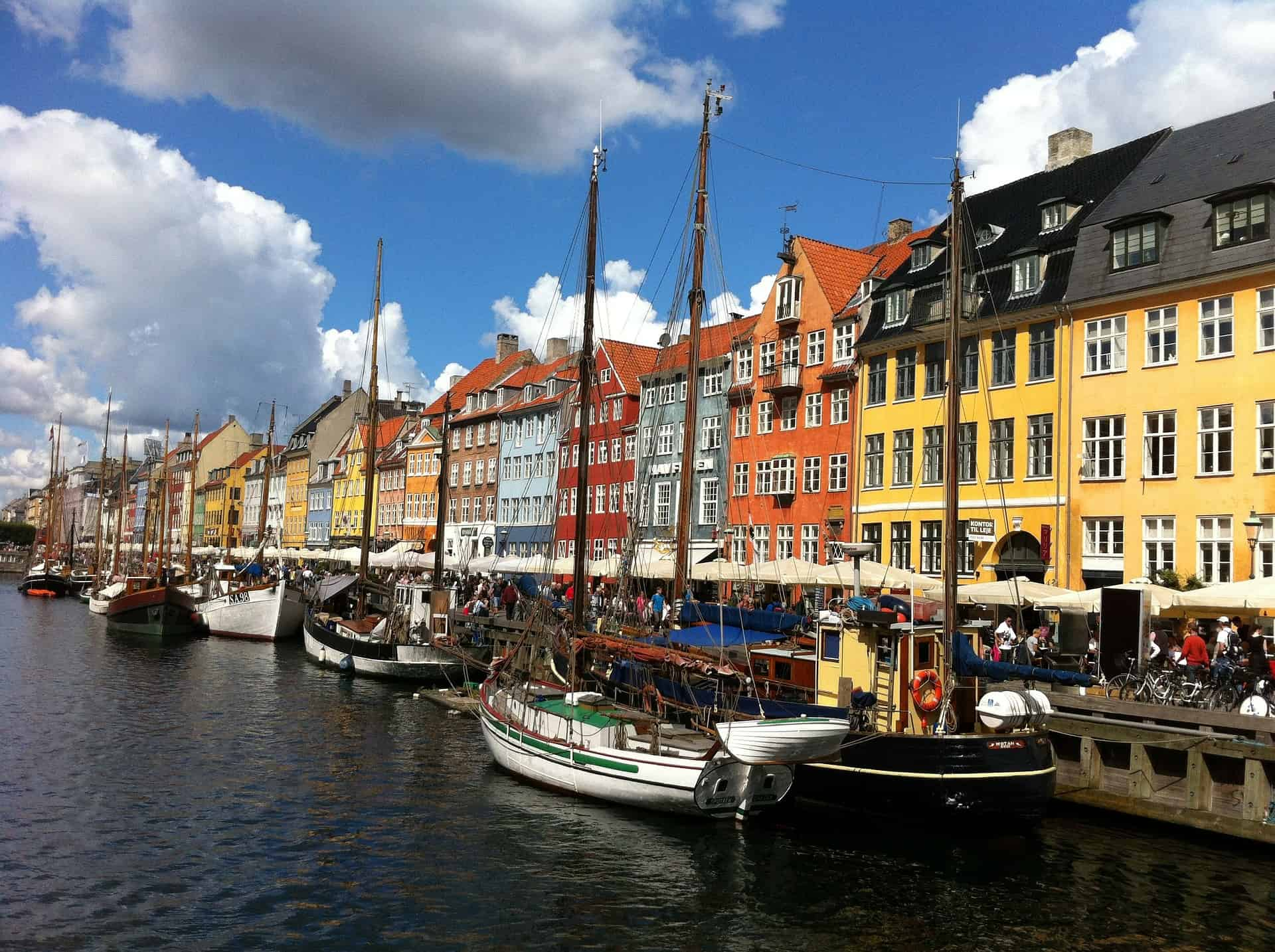 The world-famous Nyhavn in Copenhagen was dug in the 17th century as a channel that connected Copenhagen to the sea.