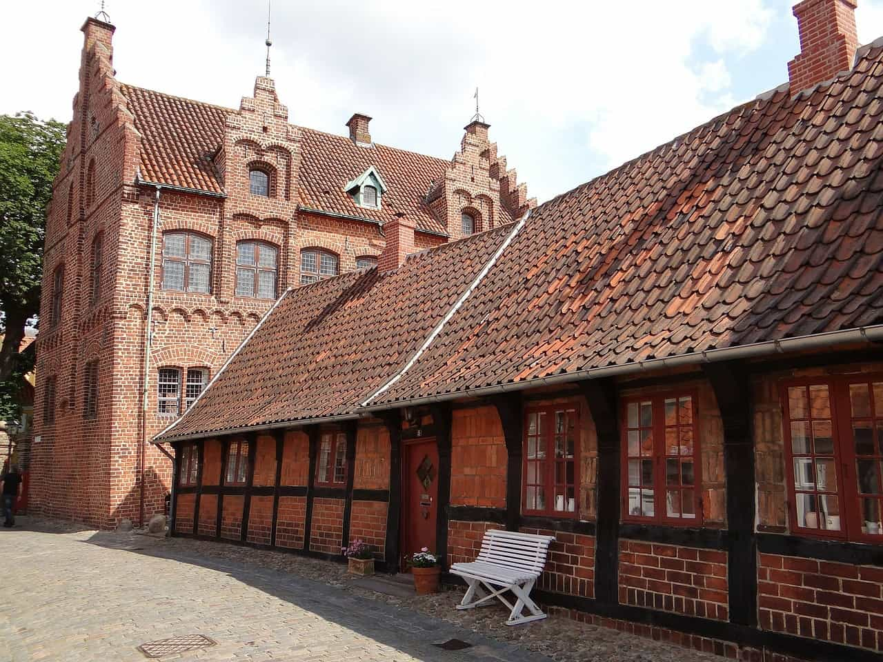 Ribe is one of the oldest and most beautifully preserved villages in Denmark. This beautiful place is known for its beautiful old houses, beautiful cathedral and beautiful scenery in the area.