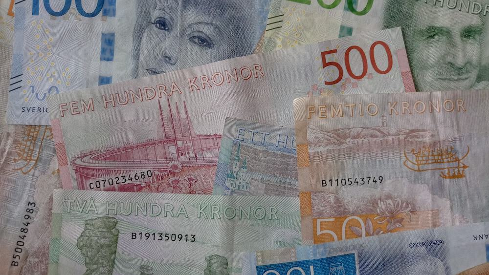 In Sweden, only two out of ten purchases are paid in cash.