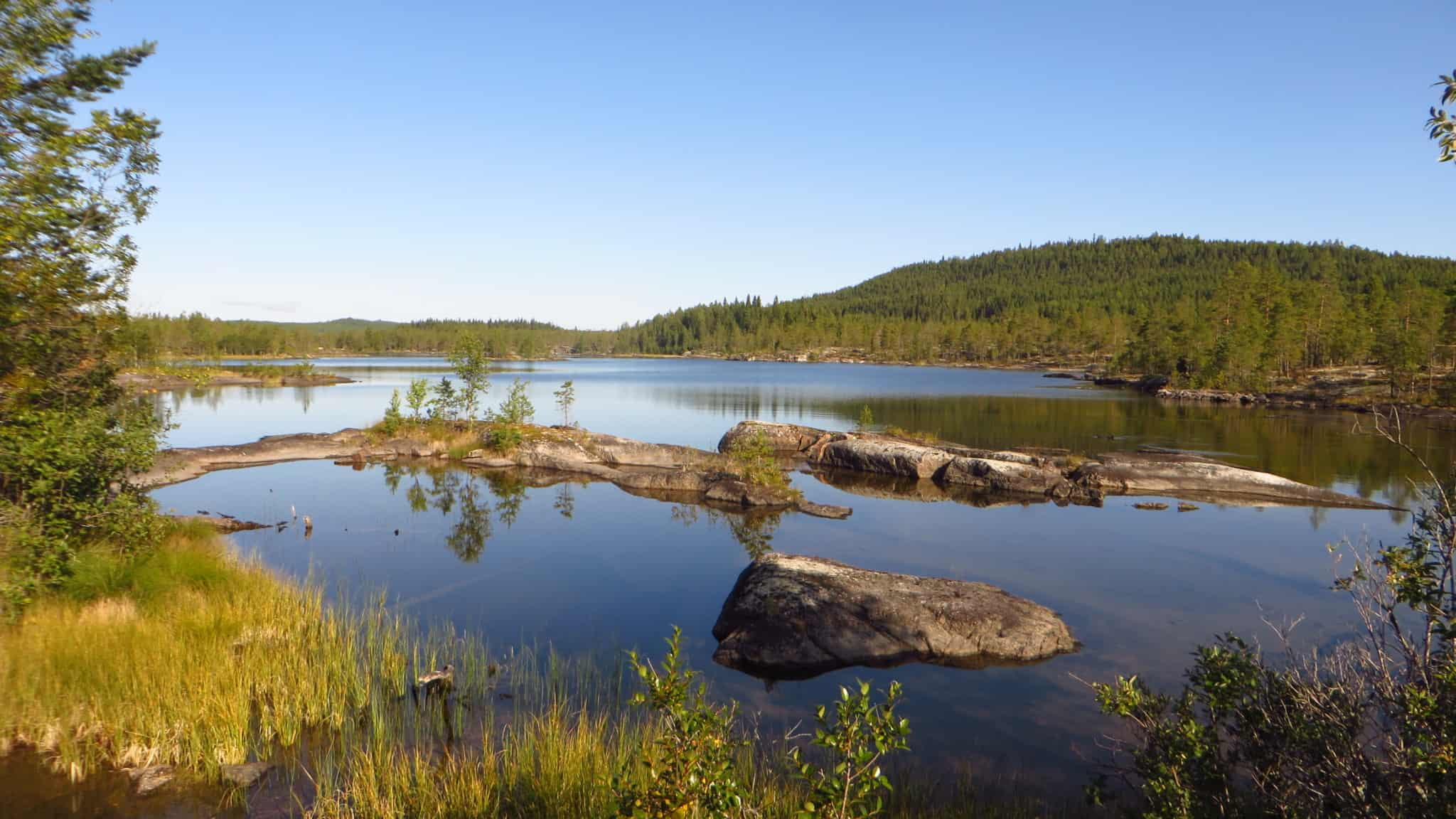 The diverse nature around Ostersund makes all kinds of outdoor sports activities possible