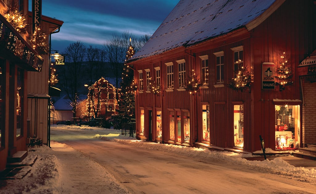In the winter time, Drøbak is a beautiful and atmospheric village where you will find a real Norwegian atmosphere