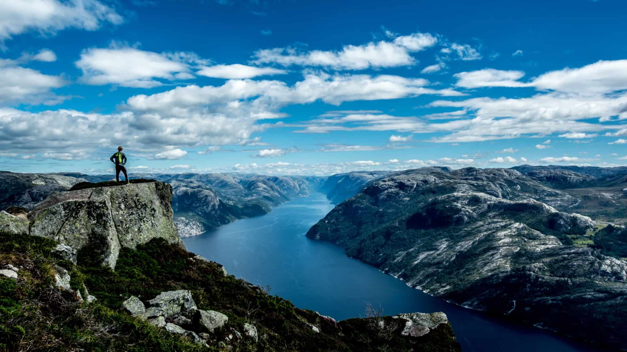 The fjords symbolize the beauty of traditional Norway. Here time passes at its own pace.