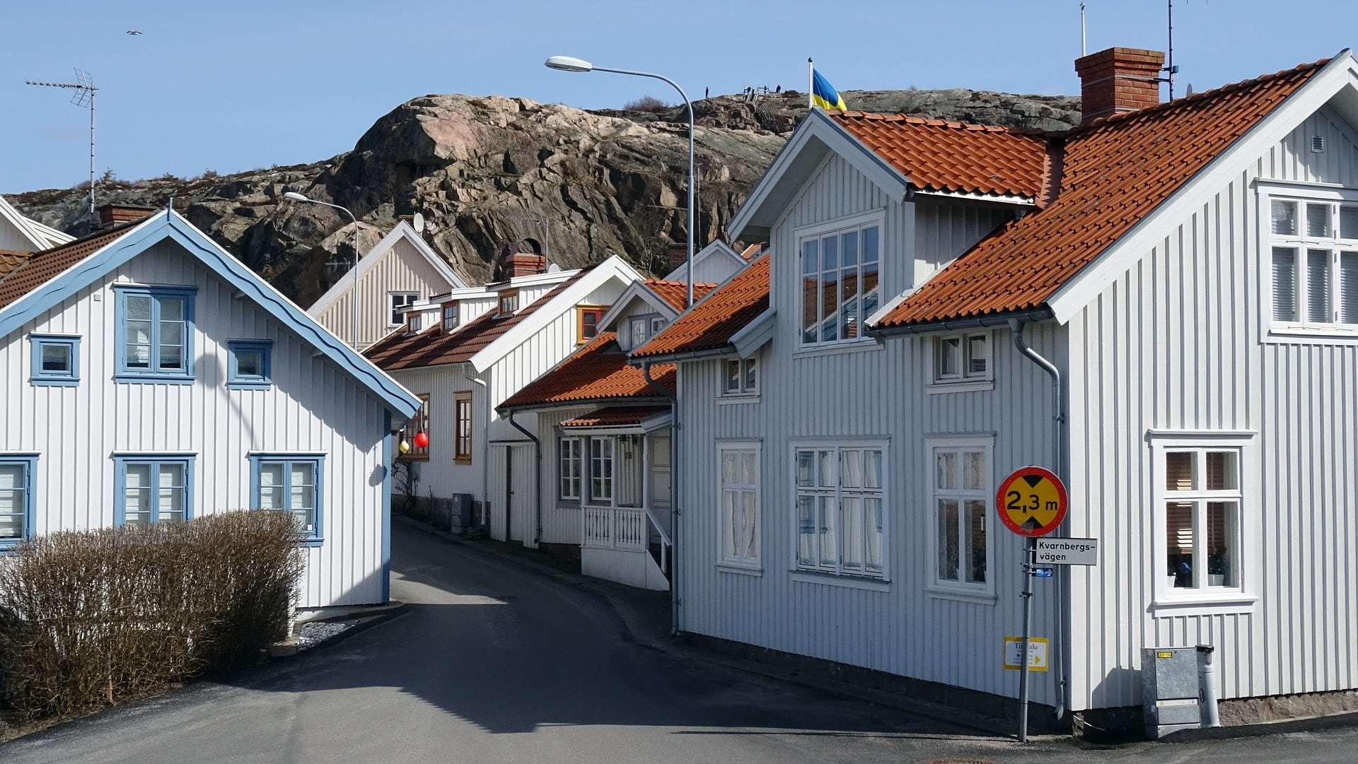Fjällbacka is a very picturesque harbor town, perfect for taking beautiful pictures.