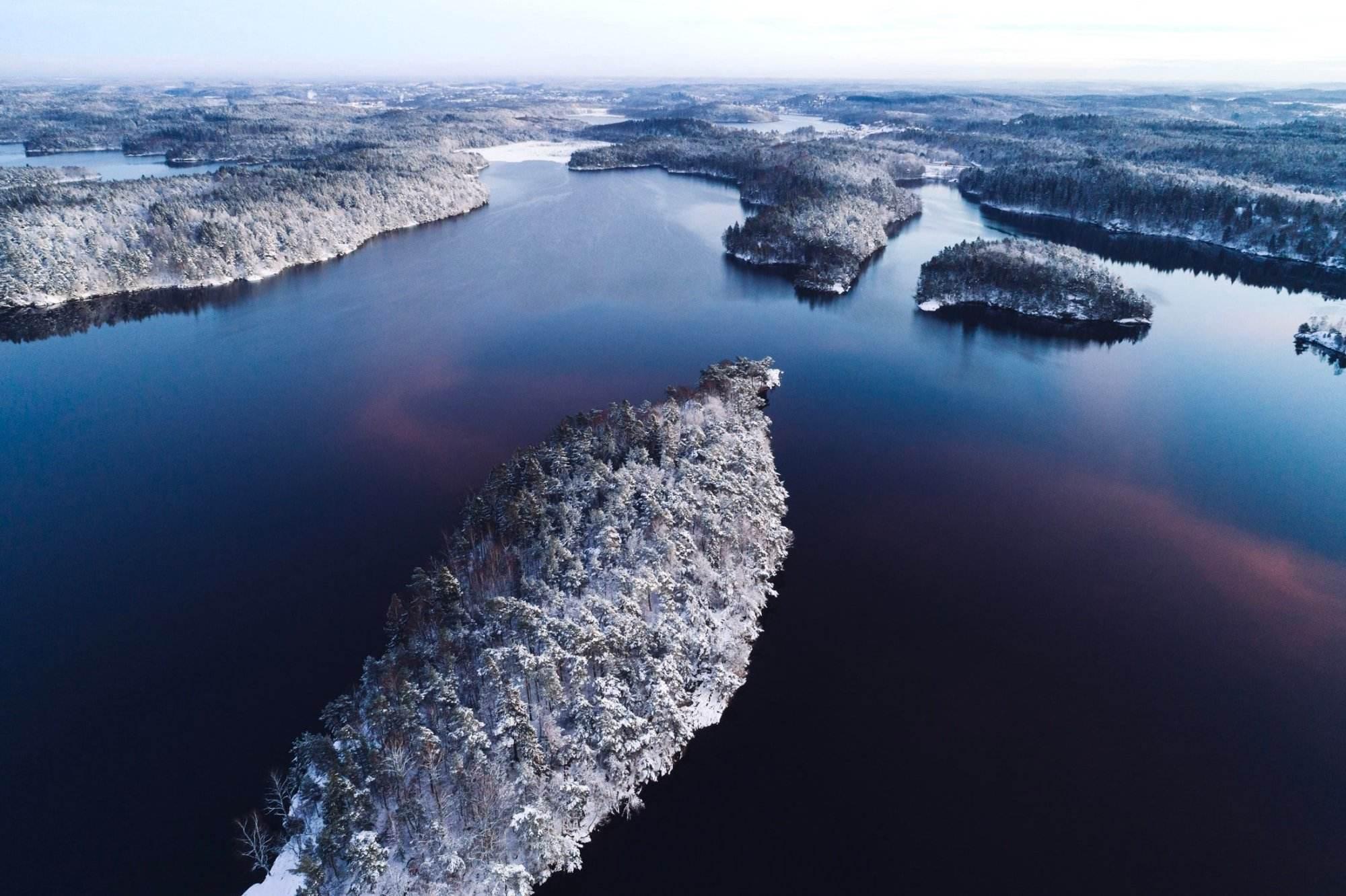 Delsjön in winter time